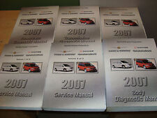 2007 Chrysler Town & Country Dodge Caravan Service Manual + Procedures 6 Books