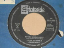 "LITTLE RICHARD & JIMI HENDRIX -Lawdy Miss Claudie- 7"" 45"