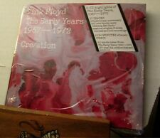 PINK FLOYD the early years 1967-1972 Cre/ation MAINLY STILL SEALED 2016 2-CD SET