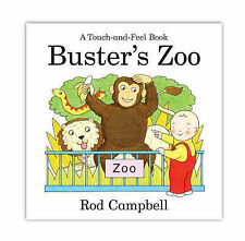 Buster's Zoo (Touch & Feel Book), Campbell, Rod, New Book