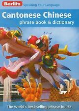Berlitz Cantonese Chinese Phrase Book & Dictionary (English and Chinese Edition)