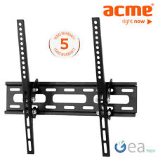 ACME MT104S staffa a muro Tv per LCD LED PLASMA inclinabile Samsung Sony Lg
