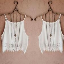 Summer Women Casual Halter Tank Tops Vest Blouse Sleeveless Crop Tops Shirt LOT