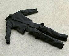 "1:6 US Black SWAT Battledress Uniform Jacket Coat Pants Trousers For 12"" Figure"