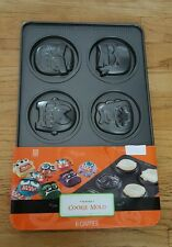 Brand New Sweet Creations By Good Cook Monster Cookie Mold 6 Cavities