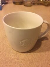 Starbucks 2010 Collectors Coffee Mug Cup White 12 OZ (S) RARE! VINTAGE
