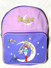 """NEW WITH TAGS PURPLE SAILOR MOON  BAG TRAVEL BACKPACK  14"""" X 10"""" X 4 1/2"""""""