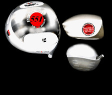#1 JAPAN WHITE GHOST GEEK GOLF DOT COM THIS 551 PGA TOUR DISTANCE DRIVER HEAD