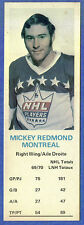 1970-71 Dad's Cookies - MICKEY REDMOND - Montreal (vg+)