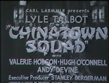 CHINATOWN SQUAD 1935 (DVD) LYLE TALBOT, VALERIE HOBSON