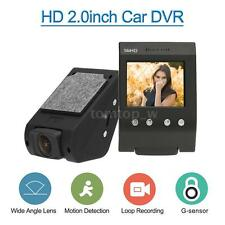 "2"" FHD LCD Auto Car DVR Camera Camcorder Recorder G-Sensor Motion Detection Z4X7"