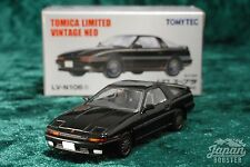 [TOMICA LIMITED VINTAGE NEO LV-N106c 1/64] TOYOTA SUPRA 2.0 GT TWIN TURBO Black