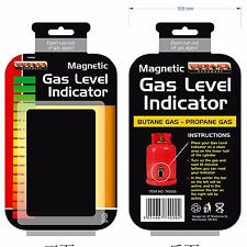 Butane / Propane Gas Bottle Level Indicator Calor LPG Guage Magnetic Caravan BBQ