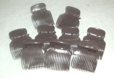 36 NEW HINGED BROWN HAIR STYLING ROLLERS CURLERS REPLACEMENT CLIPS BODY UP SETS