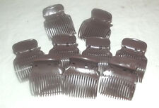 18 NEW HINGED BROWN HAIR STYLING ROLLERS CURLERS REPLACEMENT CLIPS BODY UP SETS