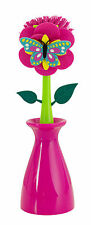 Boston Warehouse Garden Friends Kitchen Brush with Holder Butterfly