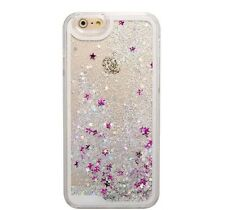 Glitter Bling Star Liquid Novelty Colourful Phone Case Fits  Apple iPhone4 4s