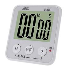 LCD Digital Cooking Kitchen Countdown Timer with Loud Alarm New Large Clock