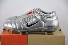 Nike Air Zoom Total 90 III FG Gr. 45 1/2 UK 10,5 Classic Boots Chrome soccer