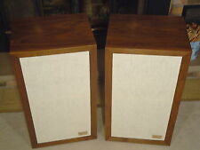 ACOUSTIC RESEARCH AR-3a SPEAKERS - RESTORED & GUARANTEED BY VINTAGE-AR
