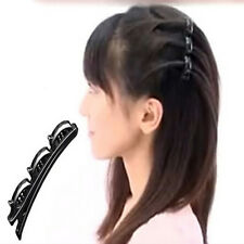 Fashion Practical Women Double Hair Pin Clips Barrette Comb Hairpin Hair Disk