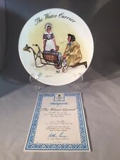 "Wedgewood Collectors Edition Plate ""The Water Carrier No 461a Boxed"