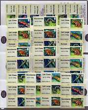 LAKES  - Post & Go PLYMOUTH COMPLETE SET OF 36 AS 6x DIFFERENT COLLECTORS STRIPS