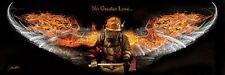No Greater Love Jason Bullard fireman protect USA poster print firefighter fire