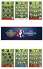 Adrenalyn XL UEFA Euro 2016 Trading Cards. Individual Eleven Cards