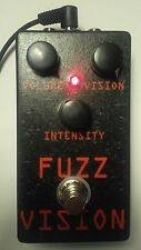 MidValleyFx - Fuzz Vision handmade splatty fuzz guitar pedal *Last one left*