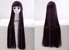 HMZ-73 Lila Violett purple mix 85cm Harajuku Lolita COSPLAY Perücke Anime WIG