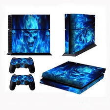 Blue Skull Skin Sticker For Xbox ONE Console Controller+ Kinect Decal Vinyl 4528