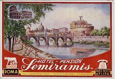 #ROMA: HOTEL - PENSION SEMIRAMIS