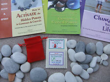 Buona fortuna GEM Pack-NEW HOME-Plus 3 più vendute books-3 Gemstone cristalli.