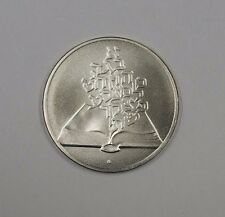 1981 Israel 2 Sheqels Silver Unc 33rd Independence Day Commemorative Coin