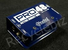 NEW! Radial Engineering Pro48 Active Direct Box Pro 48