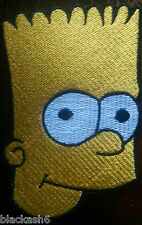 Bikers Bart Simpson Patch