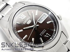 Seiko 5 Men's SNKL53K1 Stainless Steel Automatic 21 Jewels Day Date Watch