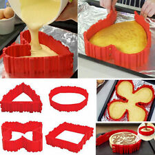 4Pcs Silicone Cake Mold Magic Bake Snakes Mould Baking Tool Silikon Kuchenform