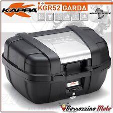 KAPPA GARDA KGR52 MOTORRAD TOP-CASE BOX MONOKEY SYSTEM 52 LTR STIL ALUMINIUM