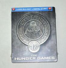 The Hunger Games District 12 Blu-ray Steelbook (canada exclusive) brand new,