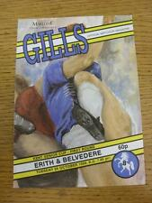 24/10/1989 Gillingham v Erith And Belvedere [Kent Senior Cup] . Item in very goo