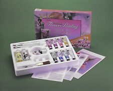 BOB ROSS Flower Painting Set-8-Floral oils, 4 brushes++