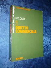 CORSO DI DIRITTO PRIVATO.DIRITTO COMMERCIALE.ALESSANDRO GIRAUDO.[MF]