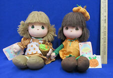 Precious Moments Doll Of The Month October & November 1988 Applause Lot of 2