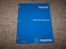 2004 Mazda3 Mazda 3 Electrical Wiring Diagram Manual i s 2.0L 2.3L