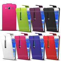 For Samsung Galaxy Various Models - Leather Case Flip Cover Pouch + Mini Stylus
