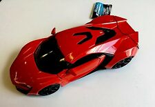 FAST AND FURIOUS LYKAN HYPERSPORT SUPERCAR  JADA 1:24 SCALE
