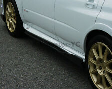 Carbon CS Side Skirt Extension For 04-07 Subaru Impreza WRX STI 8-9th GDA GDB