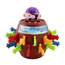 Novelty Kids Child Funny Gadget Jokes Tricky Pirate Barrel Game Desktop Toys Neu